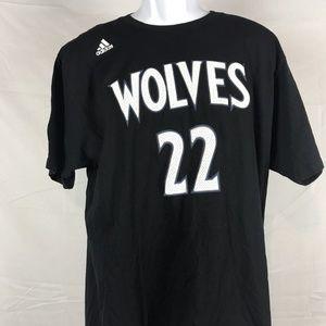 Timberwolves Andrew Wiggins 22  T-shirt  XL